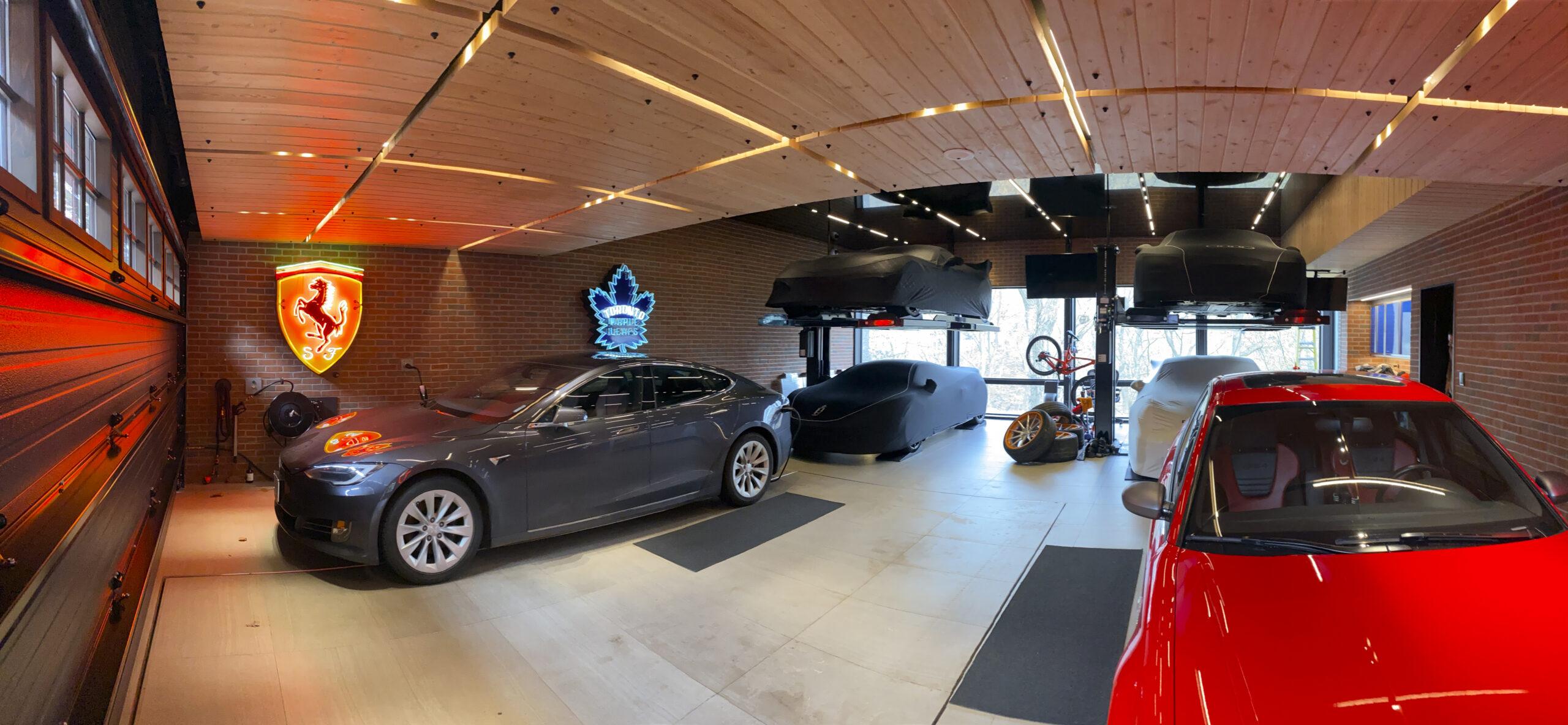 Vertical car storage