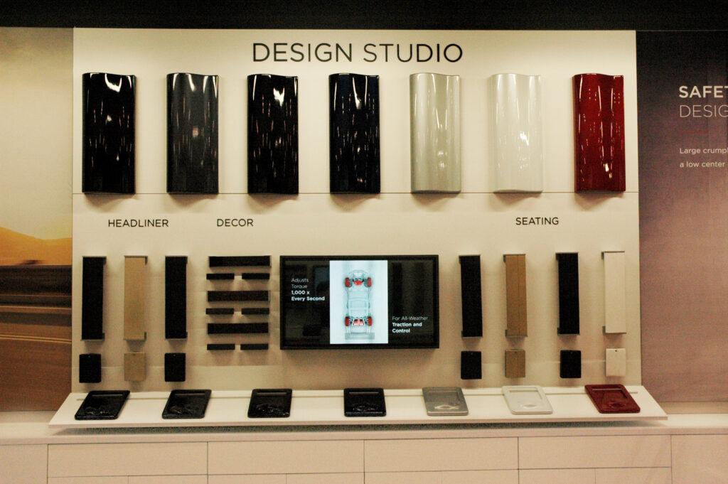 Design Studio before LED lighting