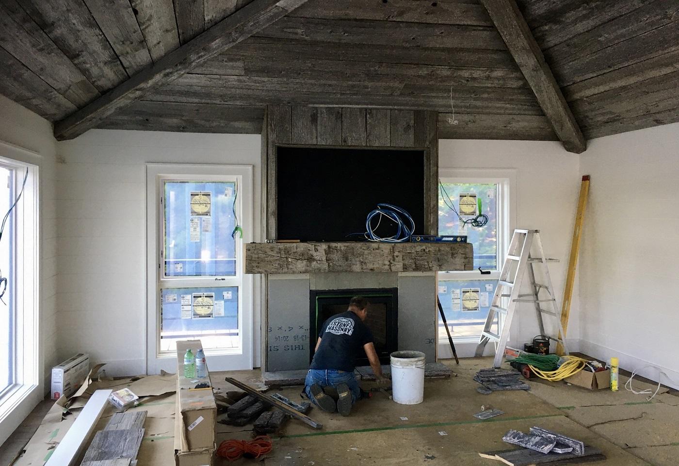 Boathouse interior integration