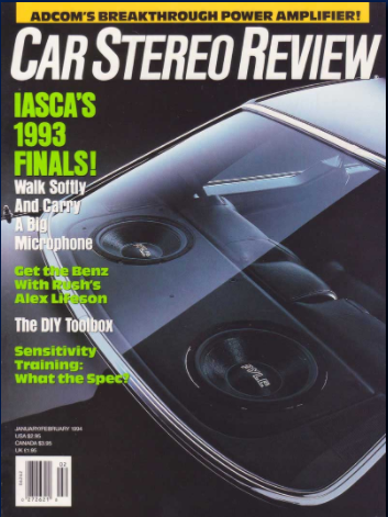Car Stereo Review magazine article